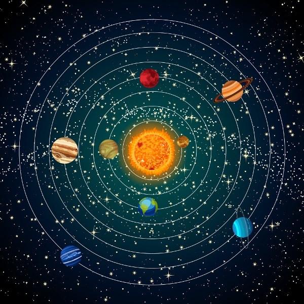 ¿Cuál es la gravedad de los planetas del sistema solar?