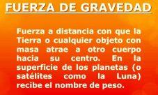 Significado de gravedad en la física