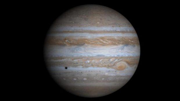 ¿Cómo es la gravedad en Júpiter?